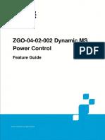 GERAN UR13 ZGO-04!02!002 Dynamic MS Power Control Feature Guide (V4)_V1.0