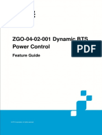 GERAN UR13 ZGO-04!02!001 Dynamic BTS Power Control Feature Guide (V4)_V1.0