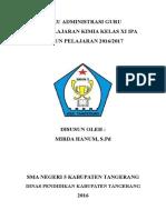 Cover Administrasi