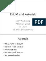 APRICOT2009 Voip Enum