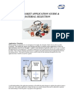 Gasket Application and Material Selection Guide