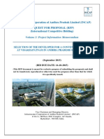 RFP for Convention Centre at Visakhapatnam Volume III