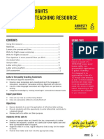 Write-For-Rights 2014 Secondary Teaching Resource