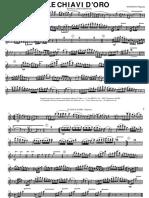 01 - Marcia Caratteristica - LE CHIAVI D'ORO [Parts]