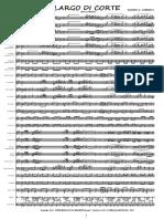 00 - Marcia Caratteristica - LARGO DI CORTE - Partitura Maestro