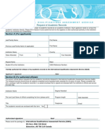 Academic Records Request Form