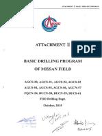 Attachment Ⅰ BASIC DRILLING PROGRAM- 12 Vertical Wells