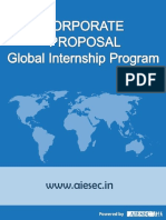 AIESEC Corporate Proposal- 2016