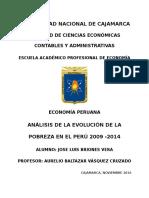 Pobreza Peru