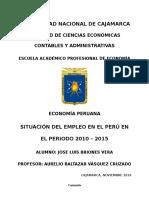 Empleo en El Peru Presentar