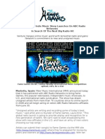 Fame Games Indie Music Show Launches On ABC Radio Networks In Search Of The Next Big Radio Hit