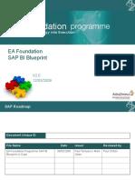 EA Foundation programme SAP BI Blueprint v2.0.ppt