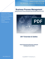 Business Process Management Training Course Overview