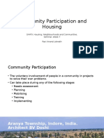 Community Participation in Housing