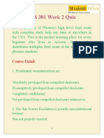 Studentwhiz & HIS 301 Solved Papers | HIS 301 Week 2 Quiz