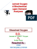 Do and Bod Analysis