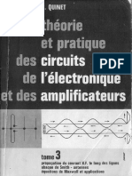 Quinett, Gutton-Electronique - theorie et pratique - cirquits de l'electronique de amplificateur. vol 3-DUNOD.pdf