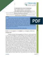 46. Agri Sci - IJASR-Survey of Ethno-medicinal Plants of Bharsar