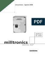 Miltronic Velocidad Cero