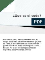 Presentación Code