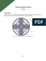 Planetary Analysis 2
