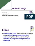 Materi 5 Keamanan KKNI - Keselamatan Kerja Part 2