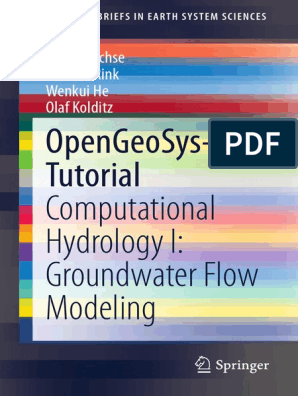 GIS Groundwater and Hydrology OpenGeoSys-Tutorial | Aquifer