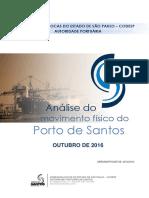 Movimentação Porto do Santos