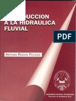 Libro - Introduccion A La Hidraulica Fluvial - Arturo Rocha.pdf