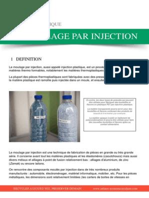 Le Moulage Par Injectionpdf Plastique Industries