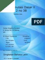 Formulasi Dasar Seri II Resep 3