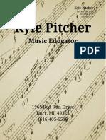 teaching resume - pitcher