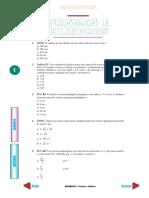 Matemática Prismas e Cilindros