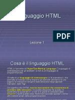 HTML - Tutta La Lezione Base