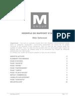 Audit Site Internet Exemple