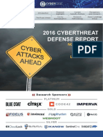CyberEdge 2016 CDR Report