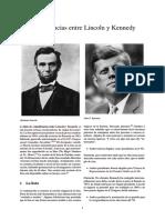Coincidencias Entre Lincoln y Kennedy
