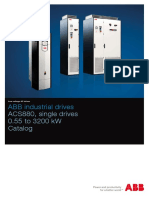 En ACS880 Single Drives Catalog 3AUA0000098111 RevL
