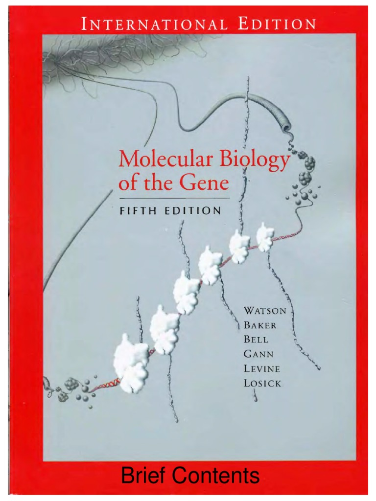 Free pdf molecular biology of the gene (books a la carte) james d ….