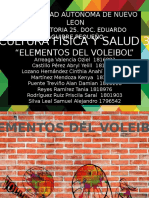 Elementos Del Voleibol
