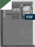 Nurettin Topçu - Türkiye'nin Maarif Davası