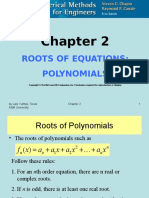 CHE 555 Roots of Polynomials