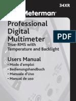 34xr Manual