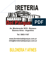 Buloneria y Afines