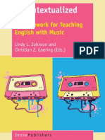 Recontextualized. A framewoek for Teaching English with Music