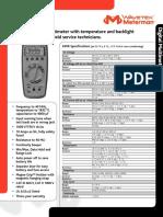 34 Xr Data Sheet
