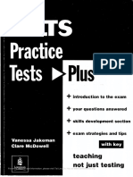 IELTS Practice Test Plus 1