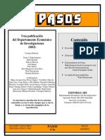 Revista Pasos (DEI) No. 96