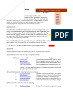 Finance Forecasting Workbook