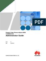 Huawei Video Phone ESpace 8850 Administrator Guide (V100R001C01_01)